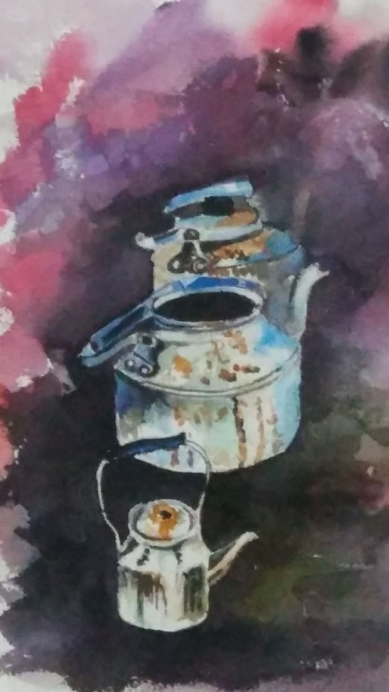 Watercolor Painting by Lalita Sharma - Doodlewash