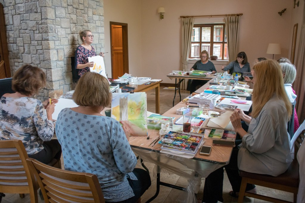 Angela Fehr Teaching In Ireland - Doodlewash
