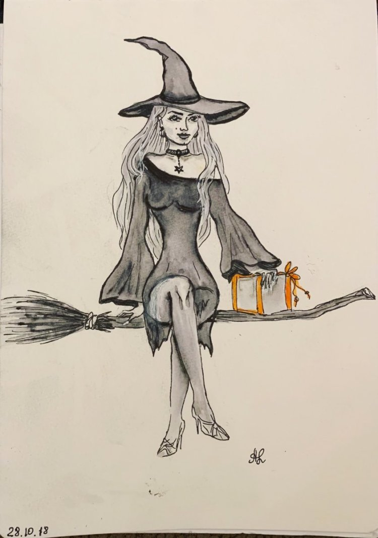 Inktober sketch for Halloween IMG_0313