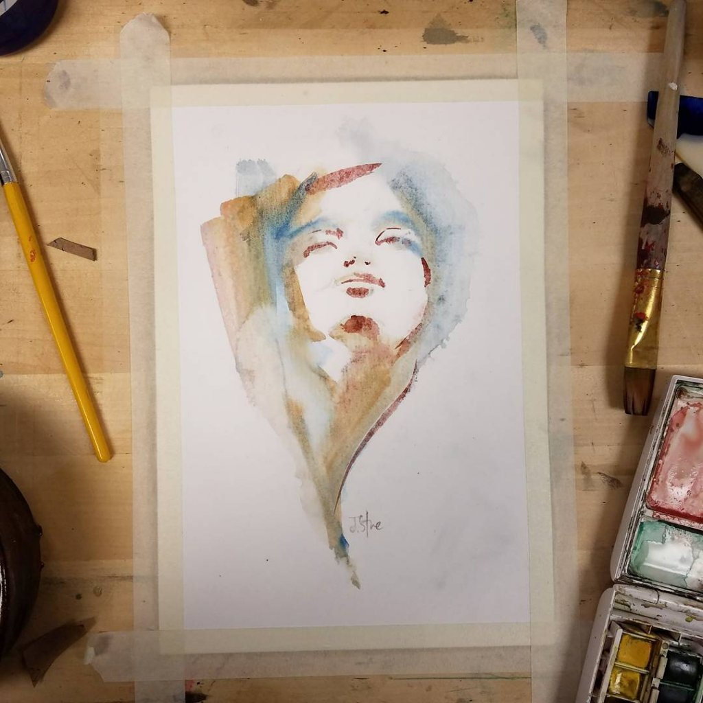 watercolor_womanlookup