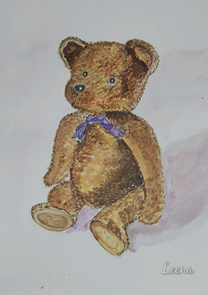 Day 13: Teddy bear 20181213_223840_wm