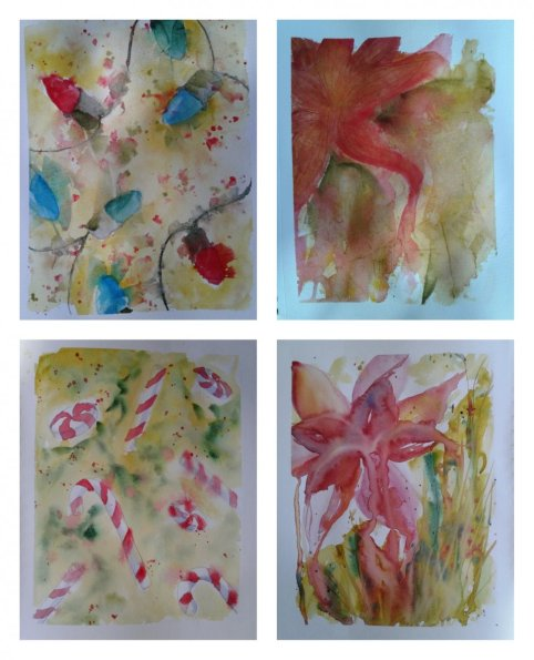 Yes, you counted right, 22 paintings since I last posted. Lol, I didn't realize I had let it g