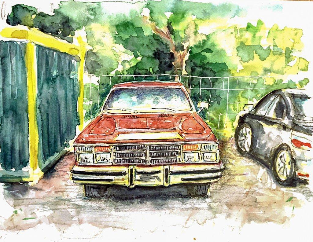 Urban Sketchers Sketching Example Dominik Neuffer 01 - Doodlewash