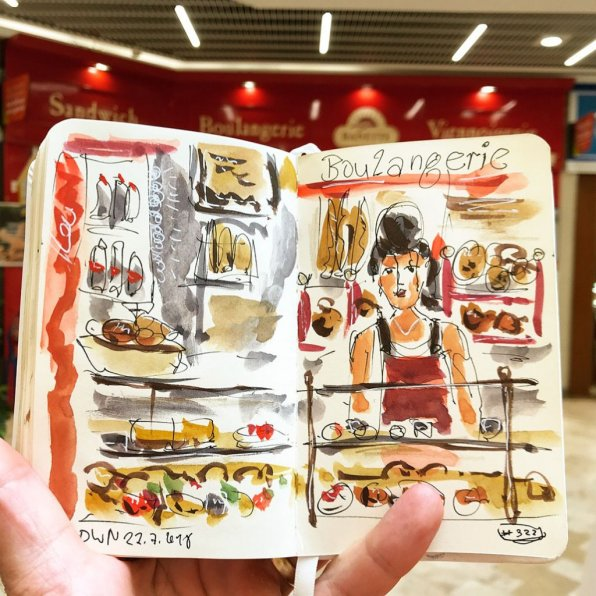 Urban Sketchers Sketching Example Dominik Neuffer 14 - Doodlewash
