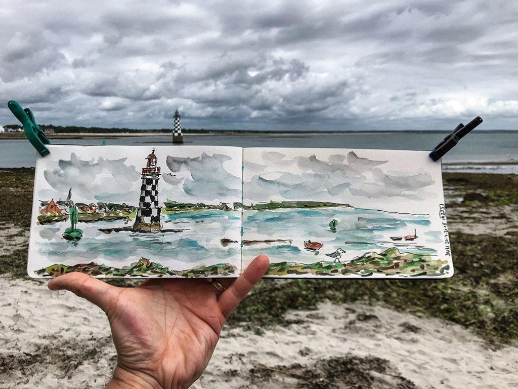 Urban Sketchers Sketching Example Dominik Neuffer 15 - Doodlewash