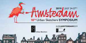 urban sketchers amsterdam 2019