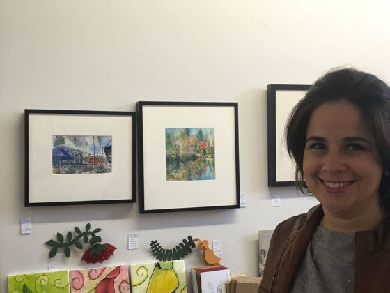 Painting Exhibition with Mila Renault - Doodlewash