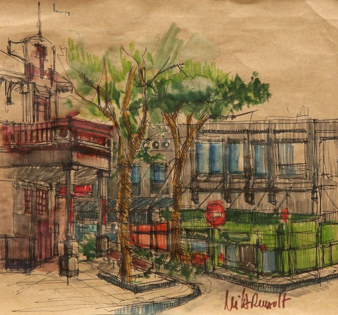 Sketch by Mila Renault - Doodlewash