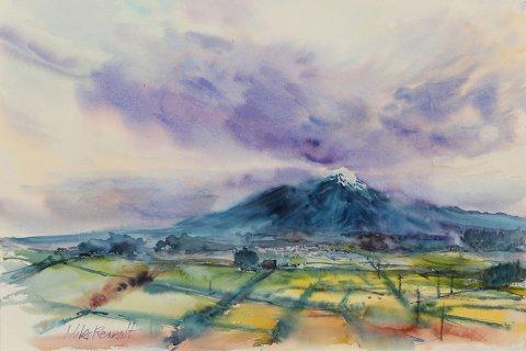 Painting by Mila Renault - Doodlewash