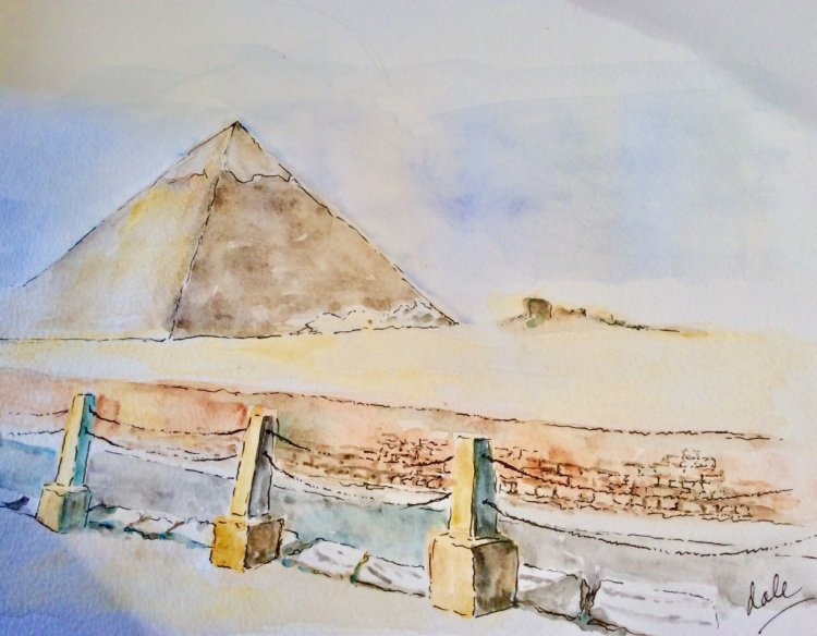 Day 3: a dream vacation—and I visited the Giza plateau last March!! Truly a dream vacation! 5011CE