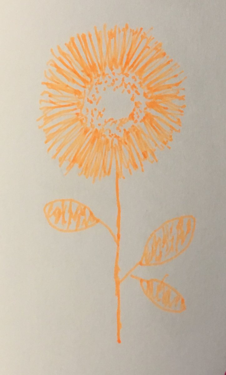 Finally found a way to draw dandelions! Will see if I can paint one now. E3FA2B9F-54FC-4708-BBA4-42A