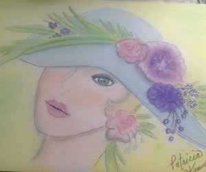my pastel rendition to celebrate Spring 2019 FullSizeRender 3