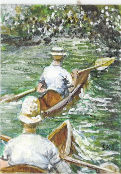 Prompt #Things that Inspire You. Yesterday I posted an ATC that did for a swap back in 2009. It was
