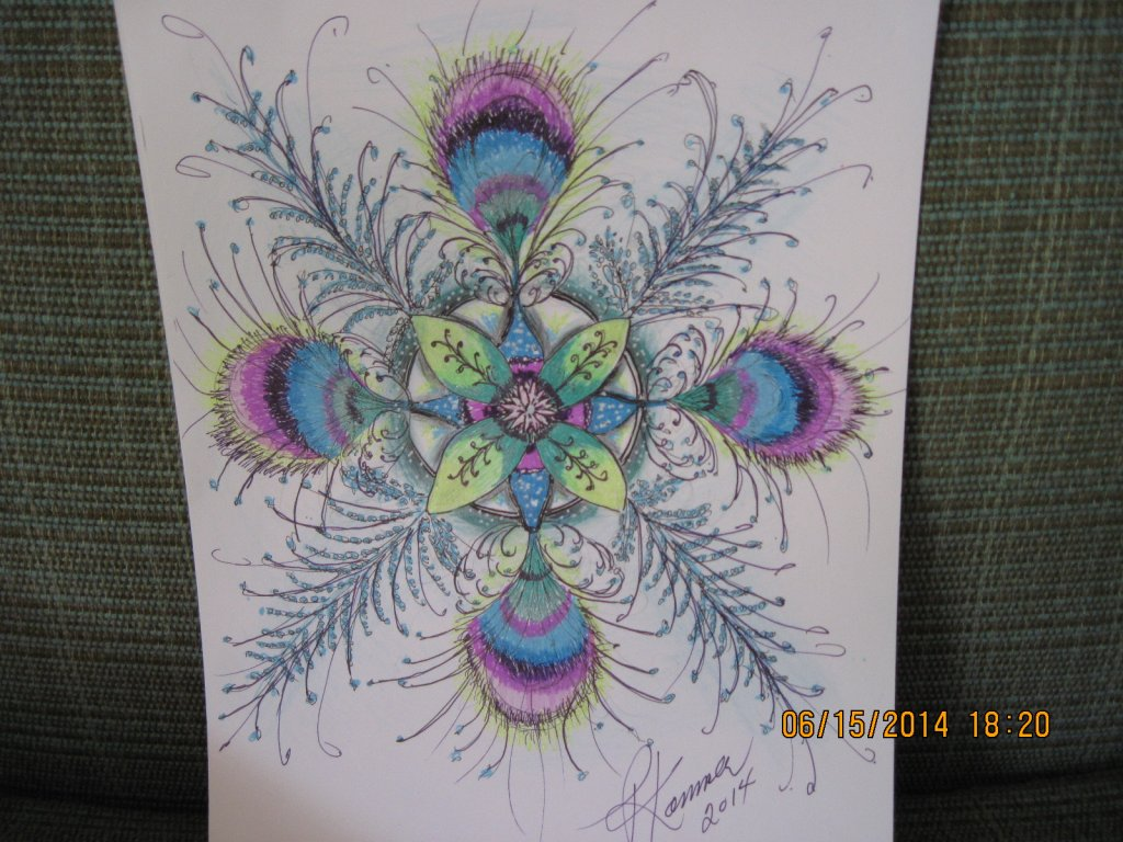 Zentangle I put this one on a T shirt 2014-04-25 13.12.222014-10-27 11.51.04ZENDOODLE FEATHER FLAKE