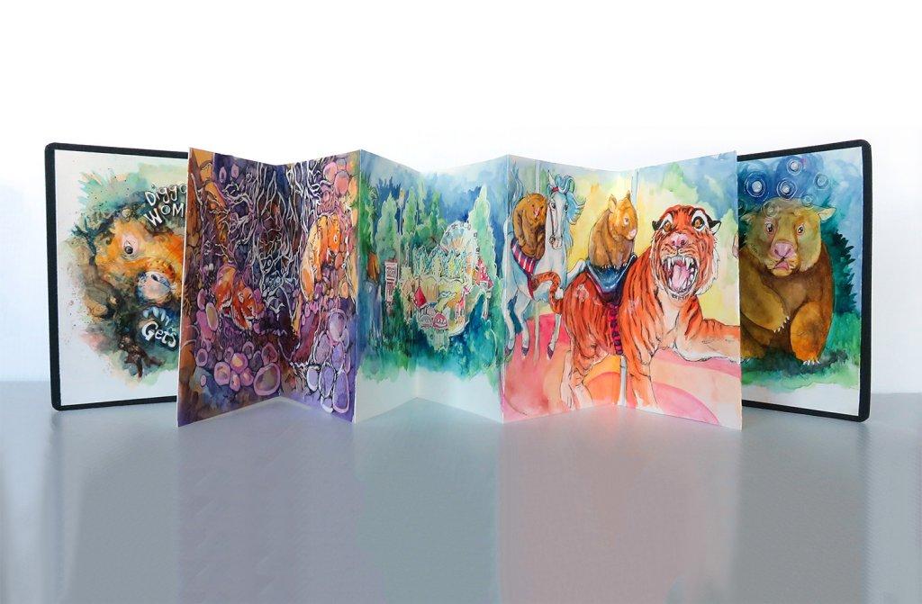Hahnemühle ZigZag Sketchbook - Sandra Strait - Doodlewash