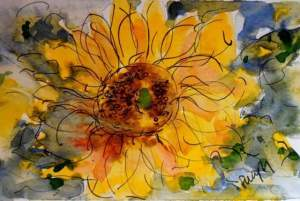 Practising sunflowers! 12523891_870343439742183_659821439549521001_n