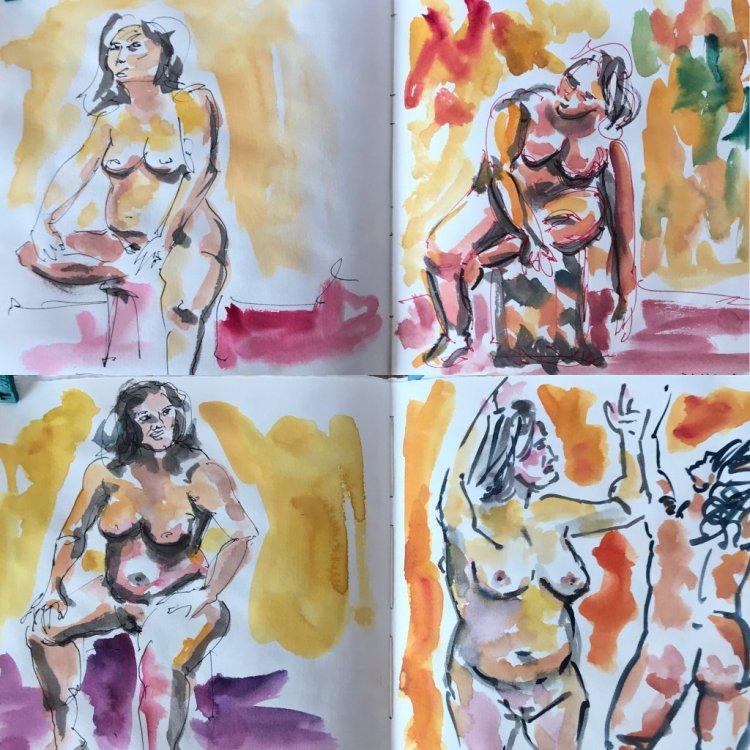 A few of my favorite people sketches from the challenge. 73ADB0E9-F7C6-4352-88DE-B7DCA1B42E3211DA04F