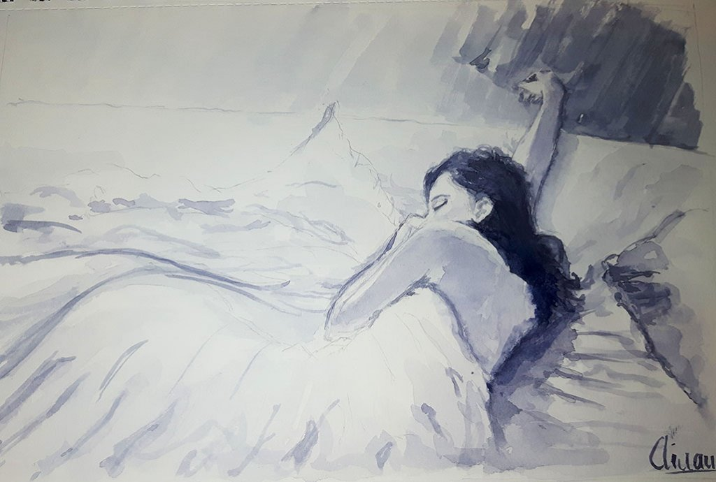 Watercolor Painting by Ainara Martin