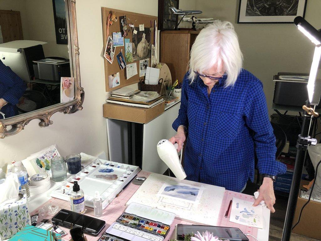 Watercolor Painting Studio - Bette-Ann LaBerge