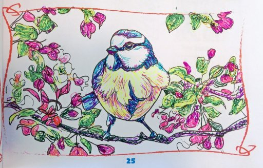 Blue Plate Special-I think this bird would make a very special plate pattern! These are my three ver