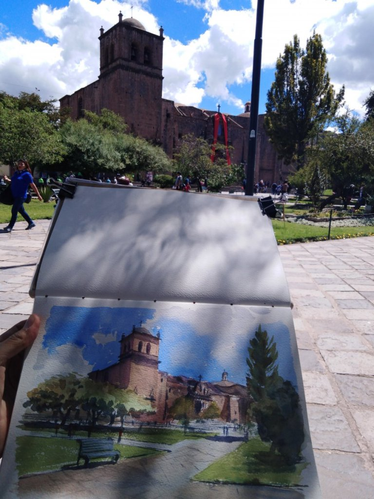 Recently i have been to Cusco again, the imperial city, but this time to visit small towns and villa