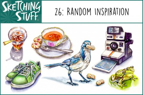 Sketching Stuff Podcast Episode 26 Artwork