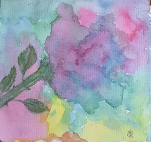 """Day 31 """"Favorite colors"""" Pastels #WorldWatercolorMonth #WorldWatercolorGroup #SketchingS"""