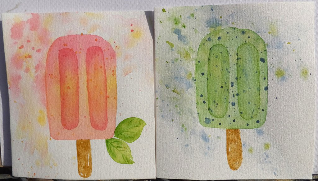 Day 24 treats #winsornewtonwatercolors #ArtezaExpertPaper Inspired by #WonderForest #worldwatercolor