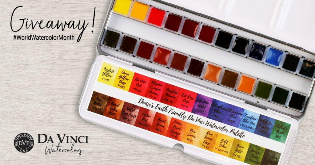 Denise Soden Da Vinci Palette Giveaway Sharing Image