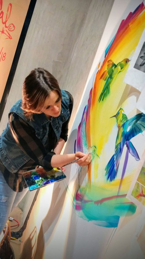 Live Painting Event With Sarah Janece Garcia