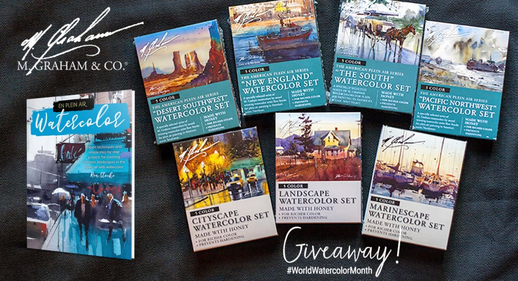 M  Graham World Watercolor Month Giveaway!
