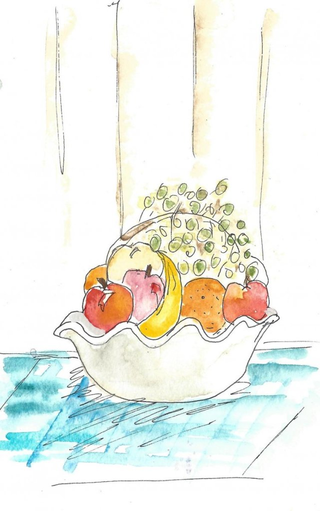 Some fruit for Day 27 of World Watercolor Month. WWM_Day27
