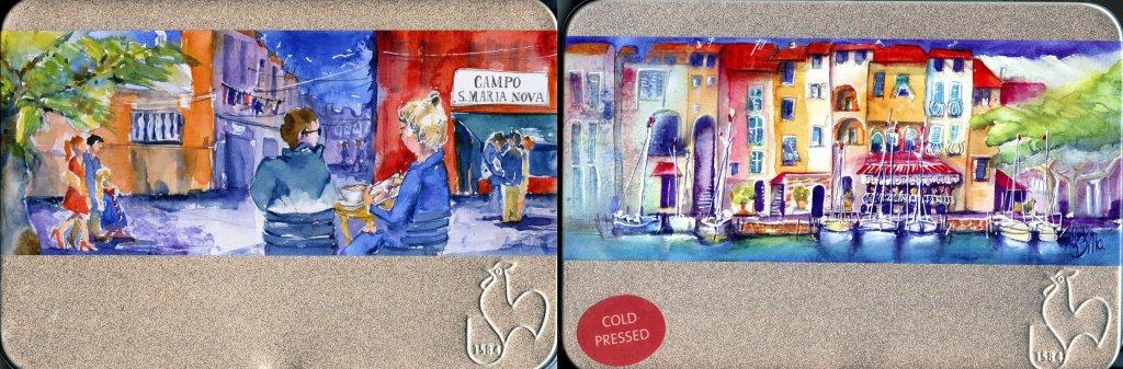 Hahnemühle Postcards Watercolour Tins
