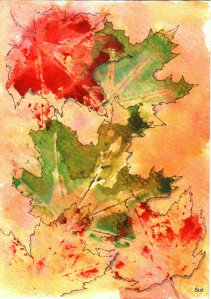 Maple Leaves Scan