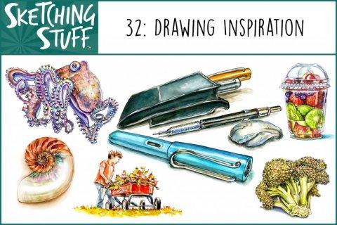 Sketching Stuff Podcast Episode 32 Album Art