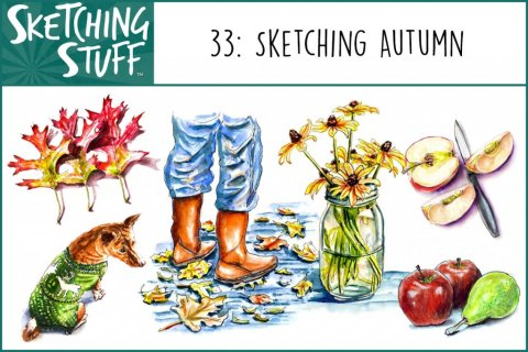 Sketching Stuff Podcast Episode 33 Album Art