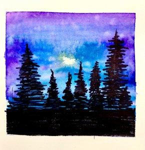 #doodlwashOctober2019 #doodlewashOctober2019AutumnFun Day 14: Forest 79EEA2CA-3392-4D76-B4E1-D67787E