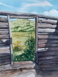 """""""Old Window Frame"""" Old-Window-Frame"""