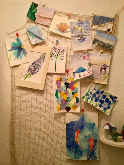 Paintings At Home 1 Deborah Ann Waugh
