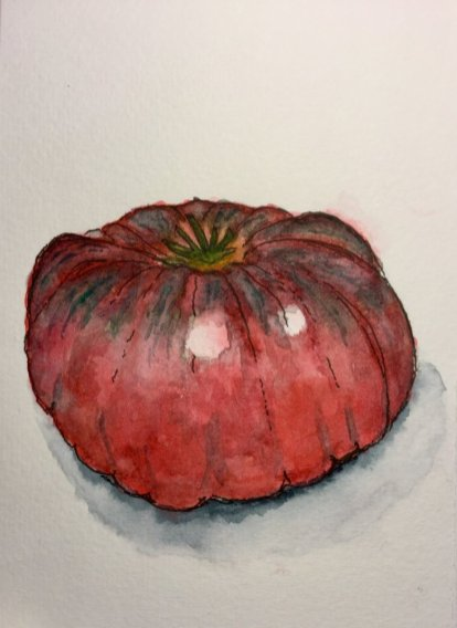 Vegetable Watercolour