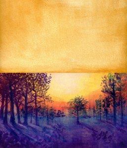 Richeson Casein & Miya Arts Gouache on Hahnemühle Cézanne Cold Press Paper#Hahnemühle_USA #mi