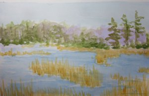 Still doing the Daily Markmaking – this watercolor sketch was #675 IMG_3819