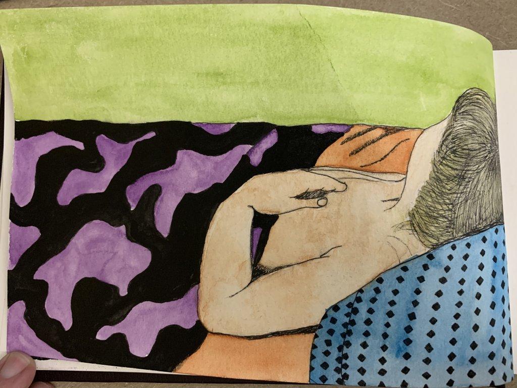 My sleeping angel, Isaiah 1DA4AC38-60C8-4510-91C7-5AF99372BBFB