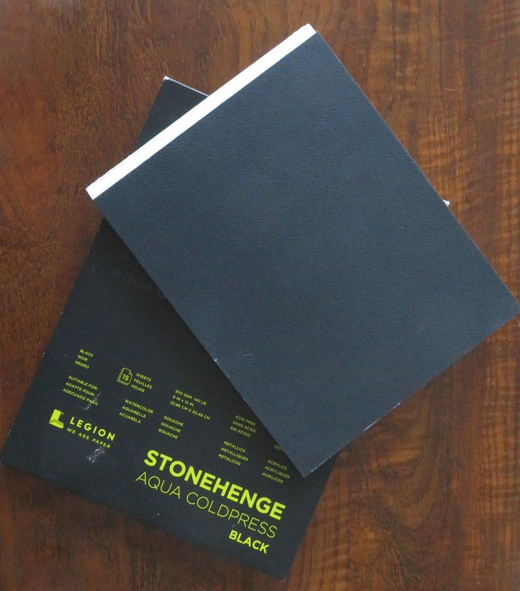 Stonehenge Aqua Black Cold Press Watercolor PaperProduct Photo