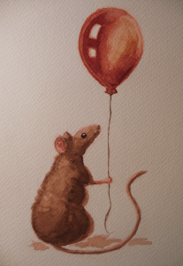 For the first prompt of January (Balloons). DSCN6335s