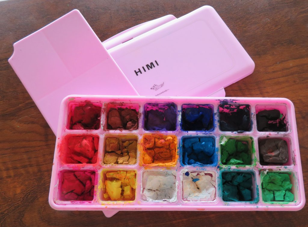 Miya Himi 18-color Gouache Paint Set Product Photo