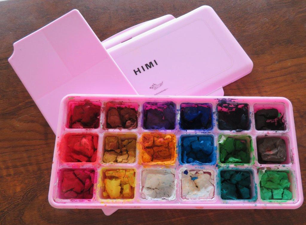 Miya Himi 18-color Gouache Paint Set Product Photo
