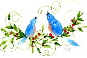 1/18/20 When Bluebirds sing 1.18.20 Bluebirds img033
