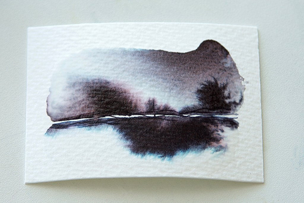 Fountain Pen Ink As Watercolor Wash Tutorial Image 13