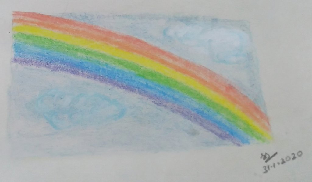 January Art Challenge : Day 31 – Rainbow #doodlewashJanuary2020 1580485449978-ce6869be-07f3-4f